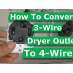 diagram how to convert 3 wire dryer electrical outlet to 4 wire youtube  3 wire stove plug