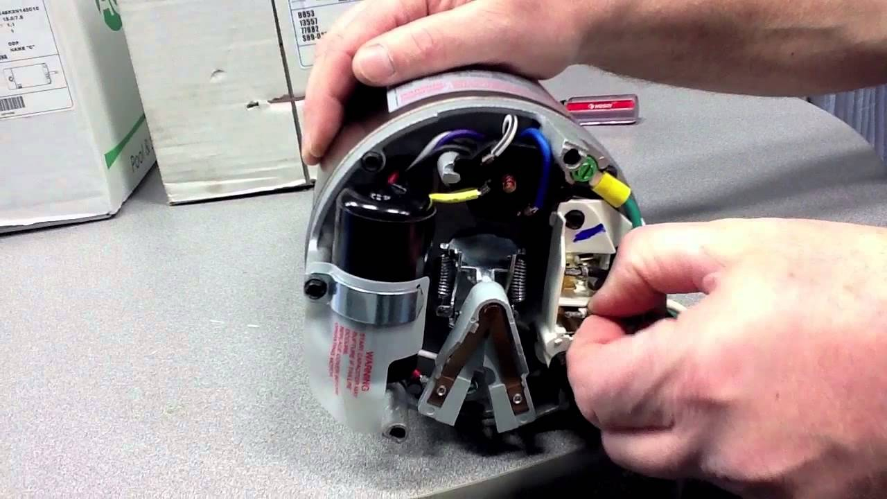 How To Convert An Inground Pool Pump Motor From 115V To 230V - Youtube - Hayward Super Pump Wiring Diagram 230V