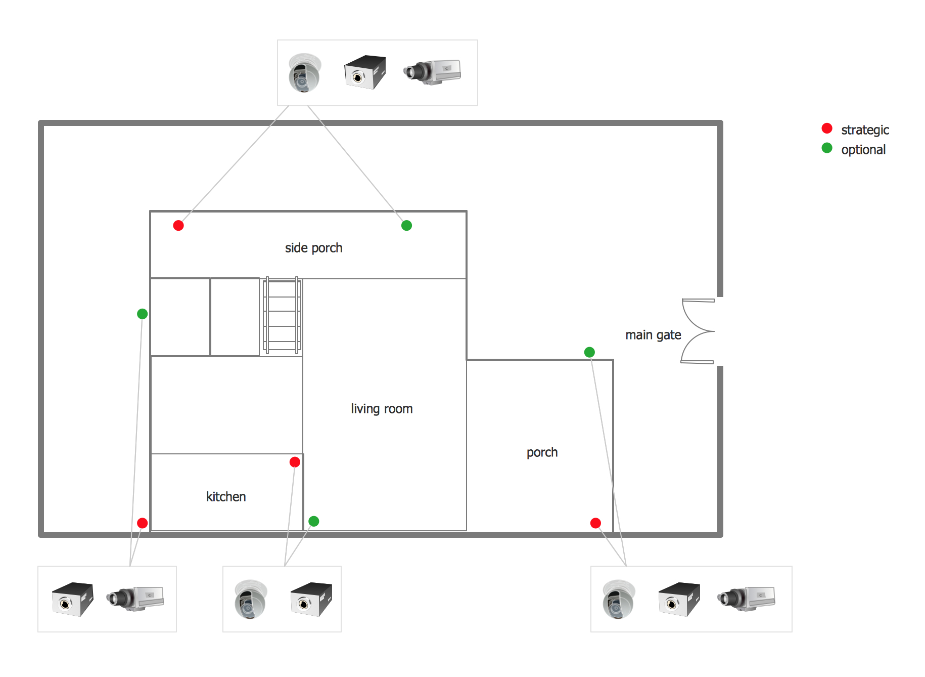 How To Create Cctv Network Diagram | Cctv Surveillance System - Cctv Camera Wiring Diagram