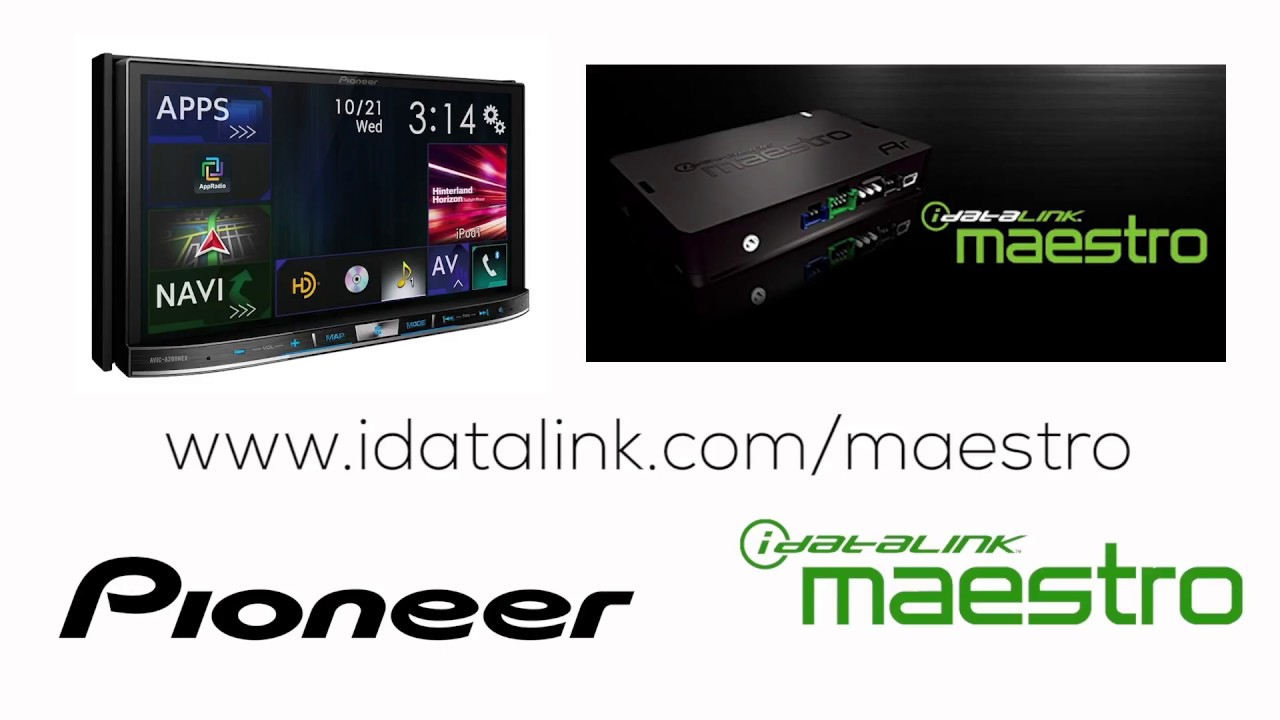 How To - Idatalink Maestro Rr On Pioneer Avh-Ex In Dash Receivers - Maestro Rr Wiring Diagram