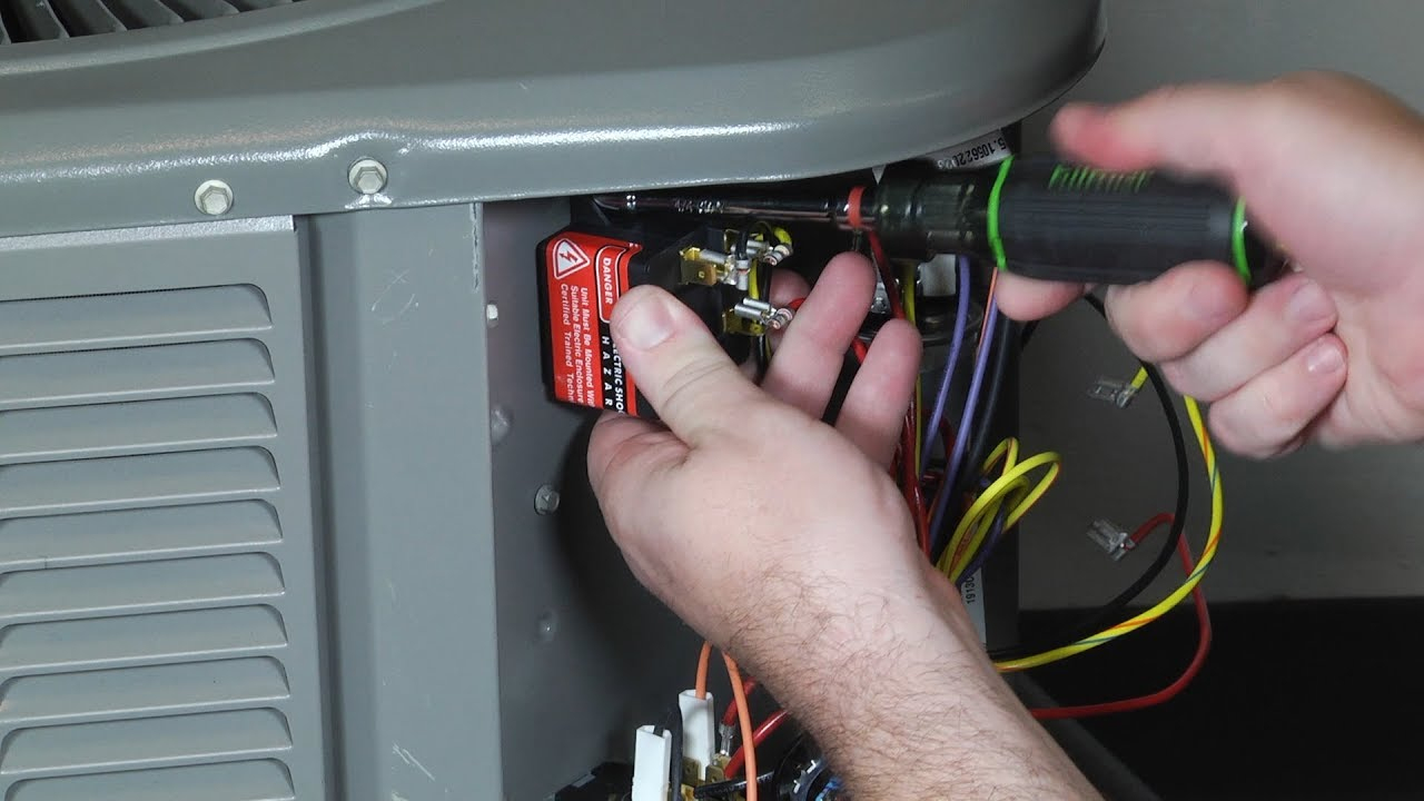 How To Install 5-2-1 Hard Start Kit On Toolbox Tuesday - Youtube - 5-2-1 Compressor Saver Wiring Diagram