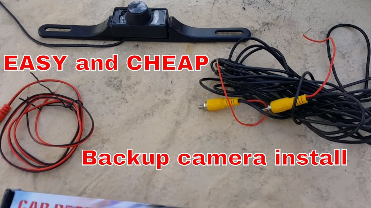 How To Install A Backup Camera On Dodge Ram - Youtube - Peak Backup Camera Wiring Diagram