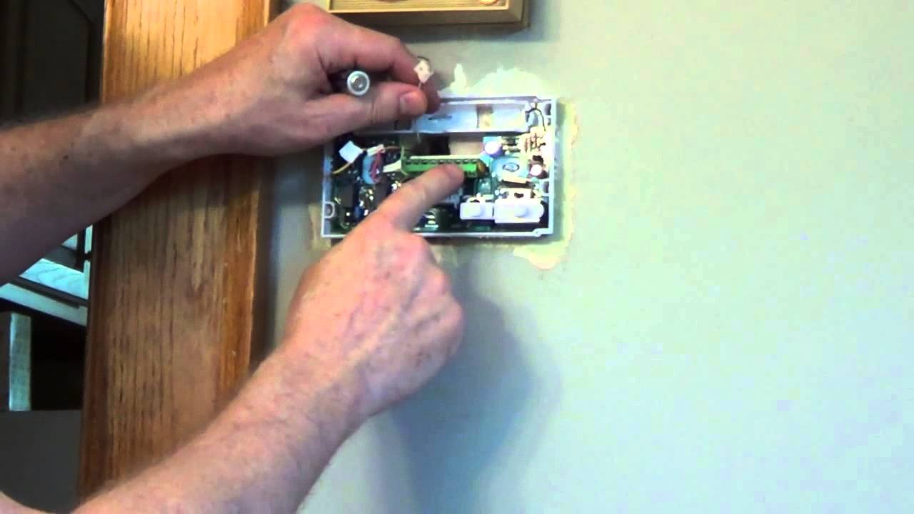 How To Install A Thermostat - White Rodgers Thermostat - Youtube - White Rodgers Thermostat Wiring Diagram