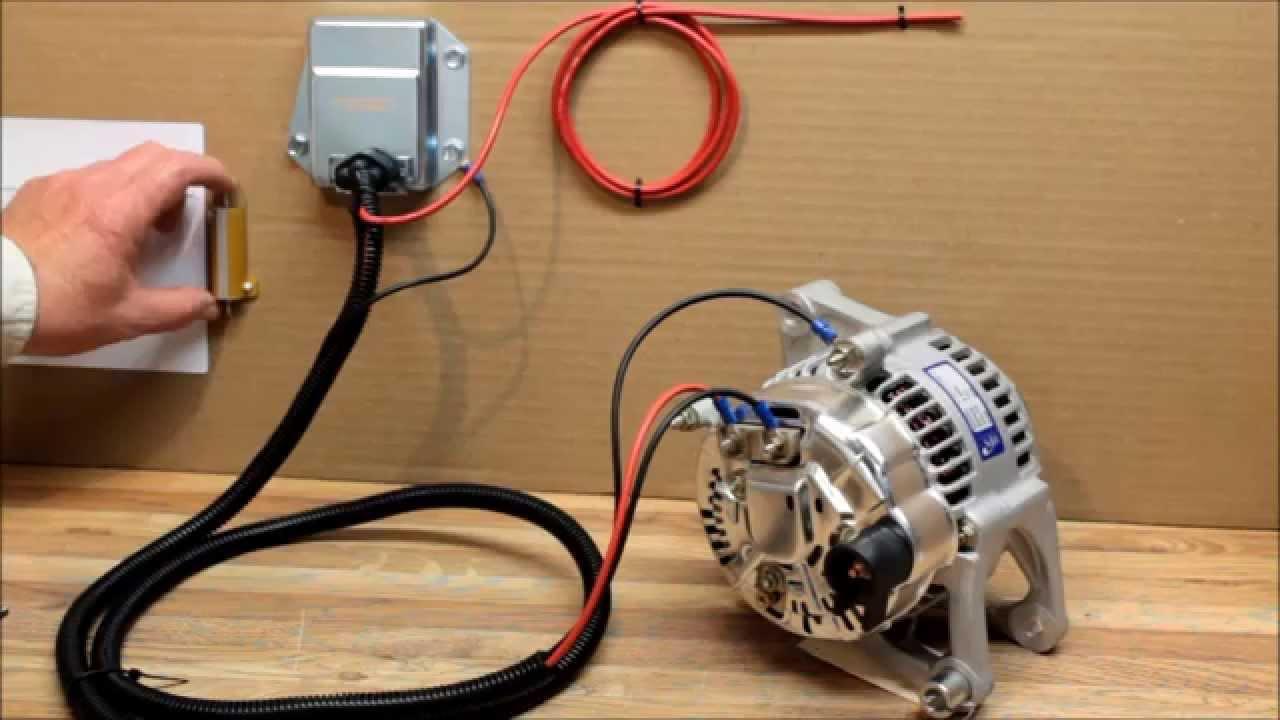 How To Install External Voltage Regulator Kit For Dodge, Chrysler - External Voltage Regulator Wiring Diagram