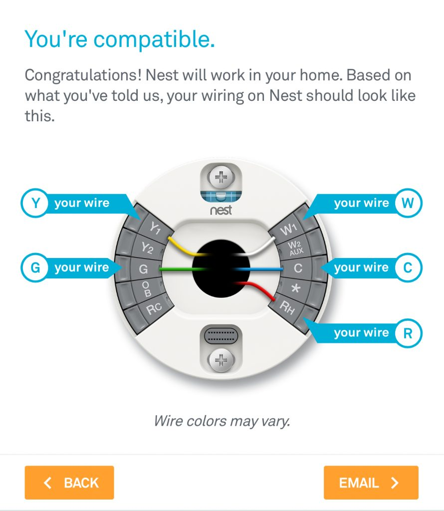 How To: Install The Nest Thermostat | The Craftsman Blog   Nest Thermostat Wiring Diagram