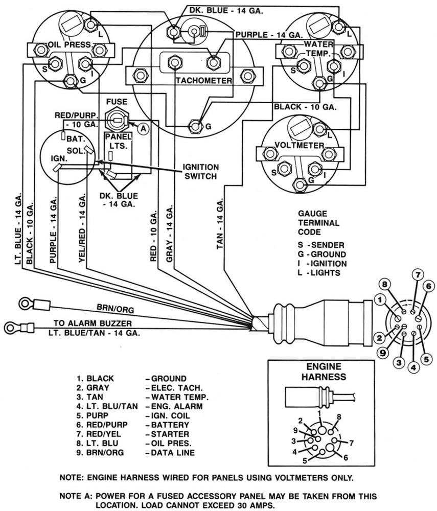 How To Jump A Mercruiser Connector? - Offshoreonly - 6 Way Plug Wiring Diagram