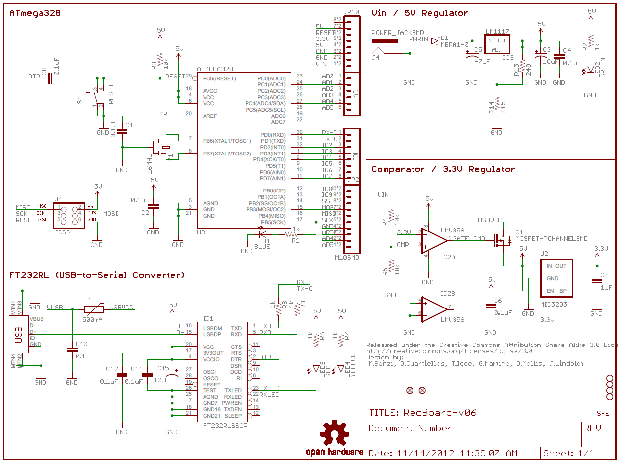 How To Read A Schematic - Learn.sparkfun - How To Read A Wiring Diagram