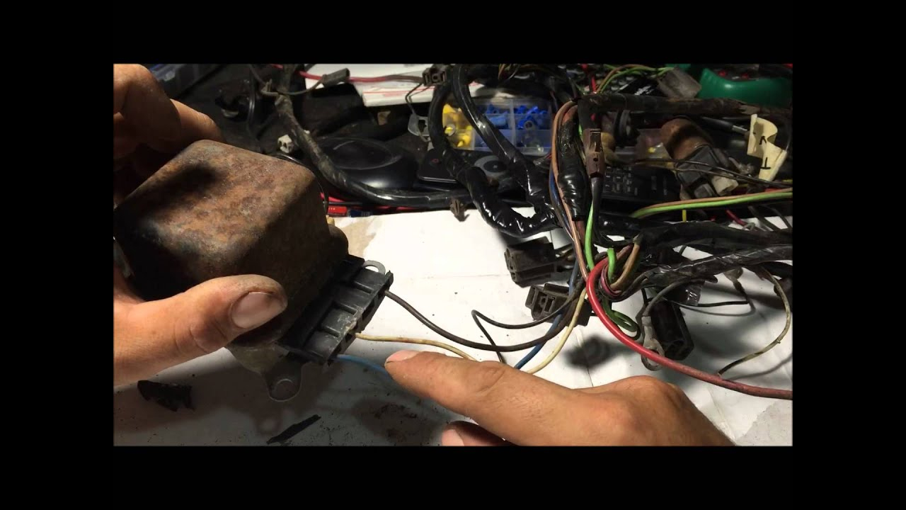 How To Rewire Alternator Wiring Harness For Internally Regulated Gm - Alternator Wiring Diagram