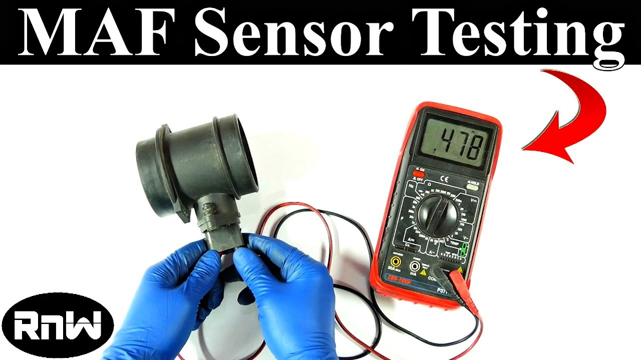 How To Test A Mass Air Flow Maf Sensor - Without A Wiring Diagram - Maf Wiring Diagram