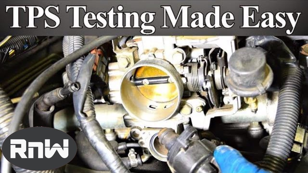 How To Test A Throttle Position Sensor (Tps) - With Or Without A - Throttle Position Sensor Wiring Diagram
