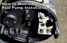 How To Wire A Pool Pump, Pool Pump Installation Part 1 Of 2 – Youtube – Pool Pump Wiring Diagram