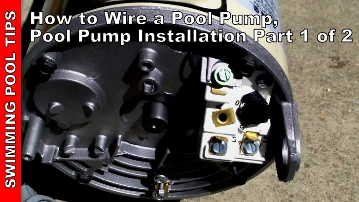 Pool Pump Wiring Diagram