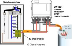 How To Wire Ca3750 Z Wave Contactor + Zwave Basics   240 Volt Contactor Wiring Diagram