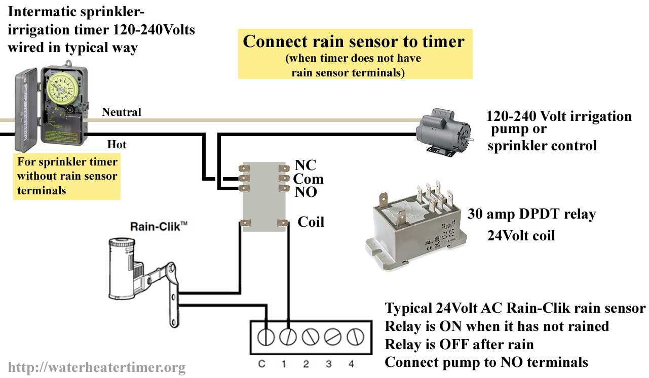 How To Wire Pin Timers - 8 Pin Relay Wiring Diagram
