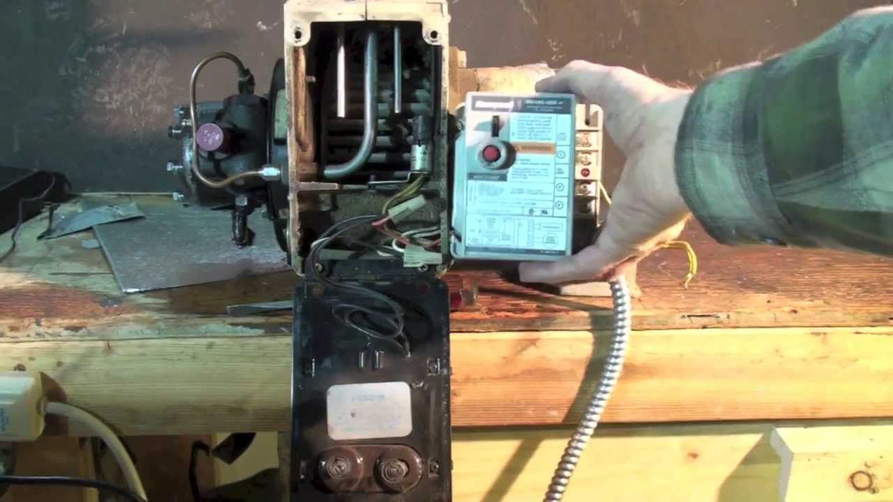 How To Wire The Oil Furnace Cad Cell Relay - Youtube - Oil Furnace Wiring Diagram