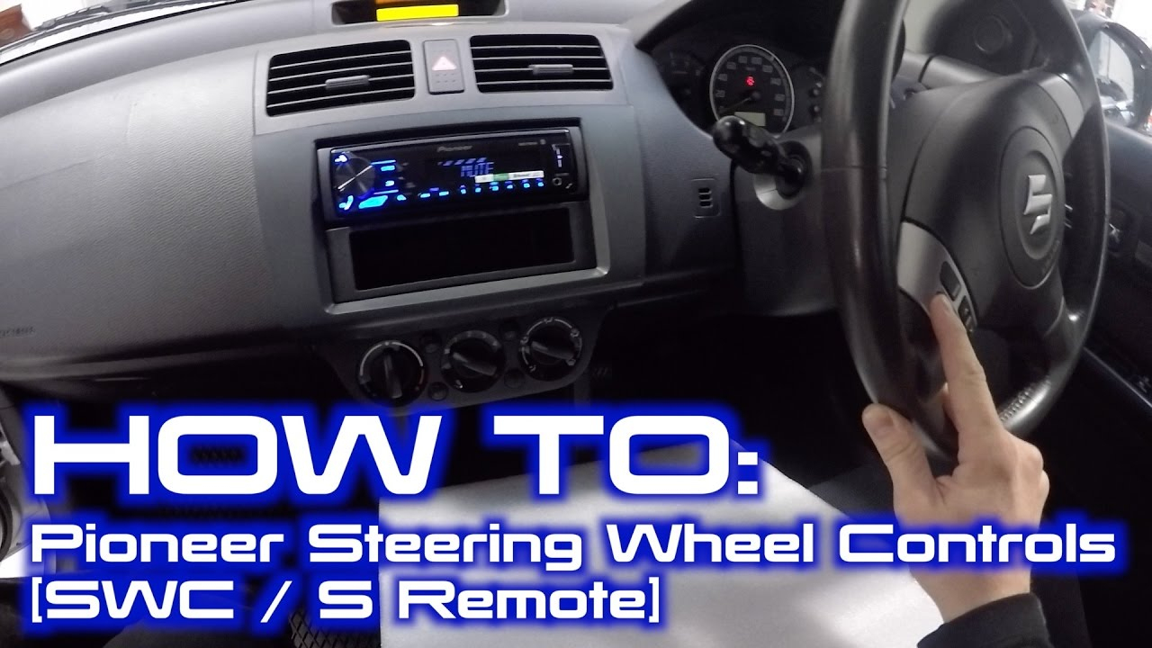 How To Wire Up Pioneer Built In Steering Wheel Controls Interface - Pioneer Wiring Harness Diagram