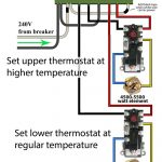 How To Wire Water Heater Thermostats   Electric Water Heater Wiring Diagram