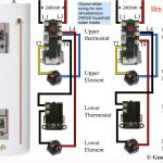 How To Wire Water Heater Thermostats   Water Heater Wiring Diagram Dual Element