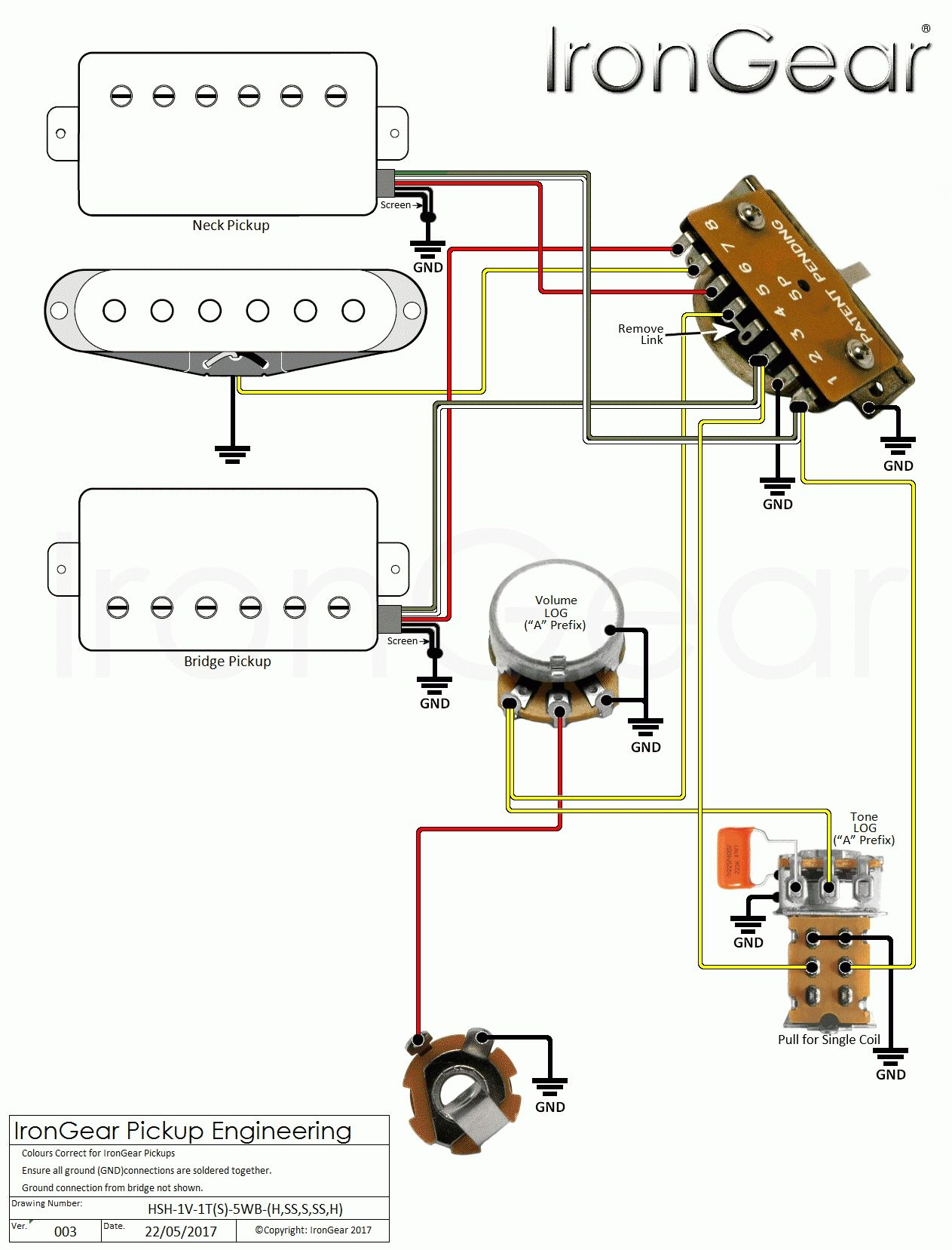 Hsh Pickup Wiring 3 | Schematic Diagram - Strat Wiring Diagram 5 Way Switch