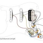 Hss Guitar W/dual Volumes, Master Tone And Coil Split   Youtube   Coil Split Wiring Diagram