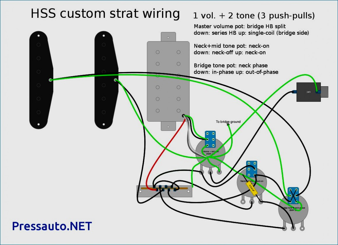 Hss Wiring Diagram Two Tone | Manual E-Books - Hss Wiring Diagram Coil Split