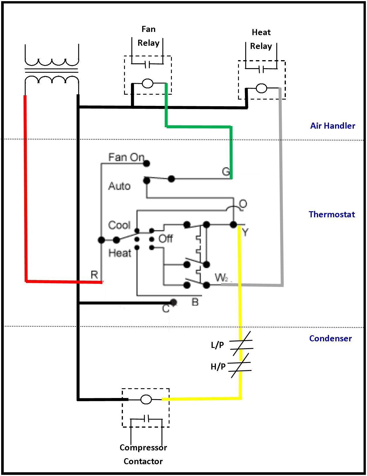 Hvac Blower Motor Relay Wiring Diagram | Wiring Diagram - Hvac Relay Wiring Diagram