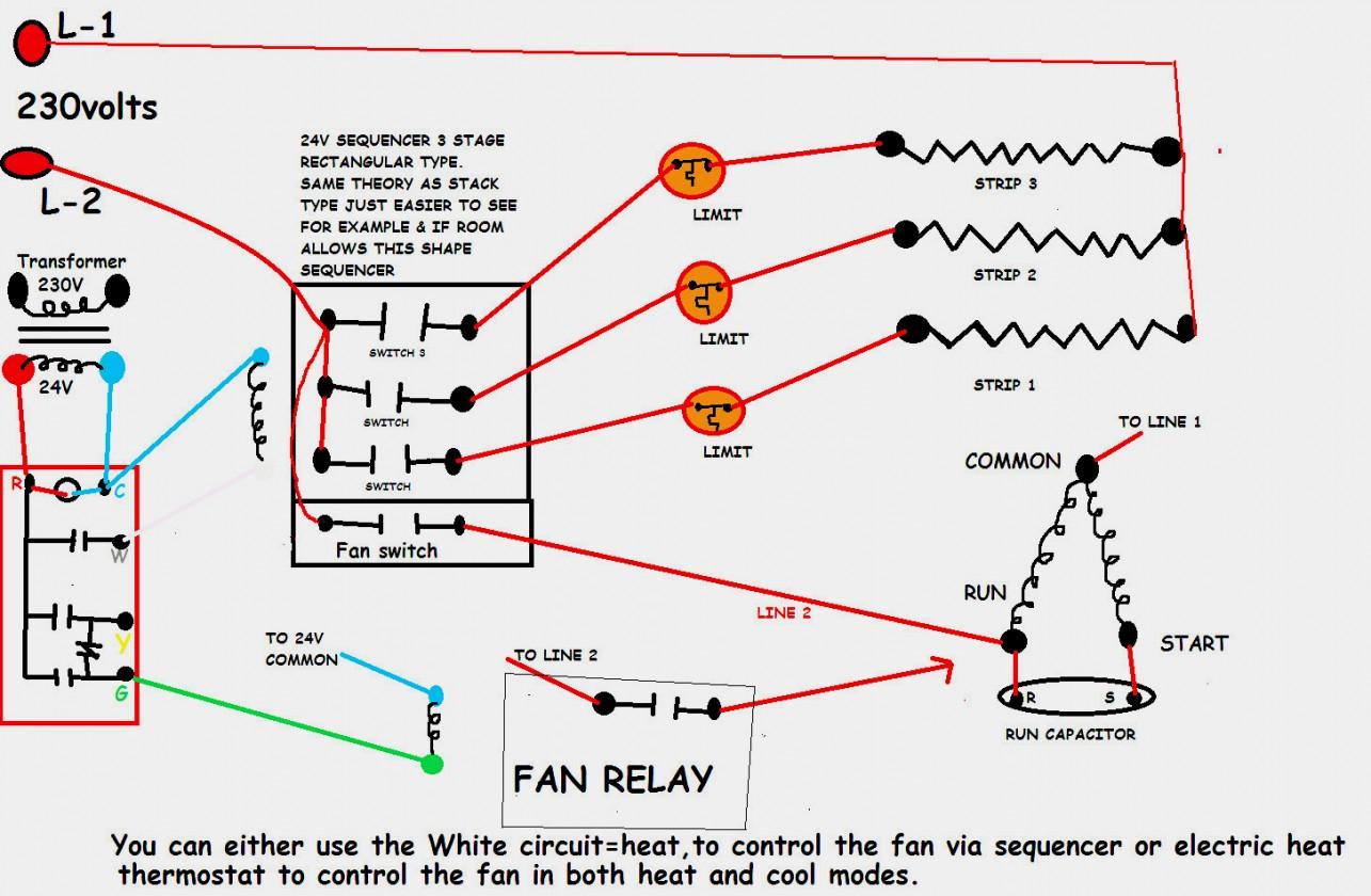 Hvac Relay Wiring - Wiring Diagram Data - Hvac Relay Wiring Diagram