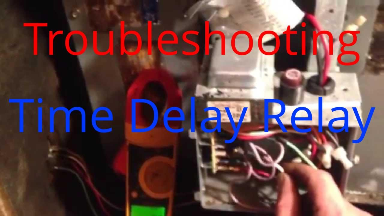 Hvac Service: Troubleshooting Time Delay Fan Relay On A Trane Air - Cooling Fan Relay Wiring Diagram