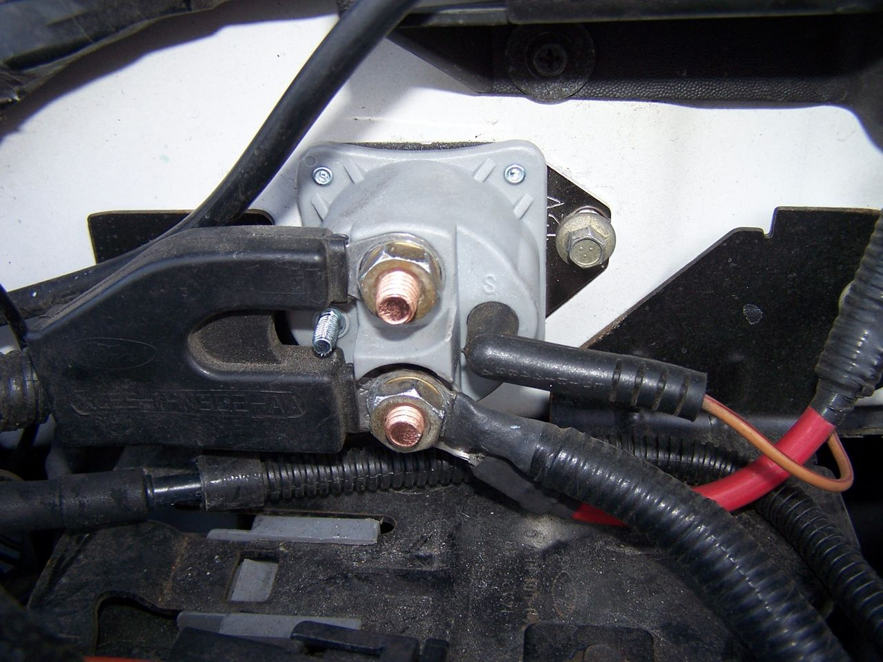 I Am Looking For A Diagram On The Wiring Of A 2001 Ford Expedition - Ford F150 Starter Solenoid Wiring Diagram