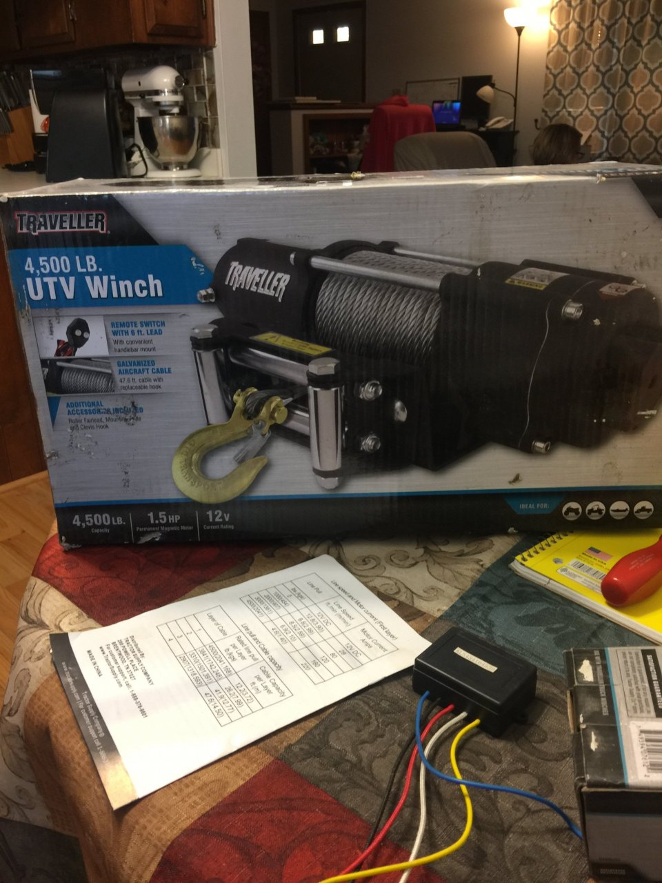 I Have A Traveller 4500 Lb Winch Model # 1078311 And Need To Know - Traveller Winch Wiring Diagram