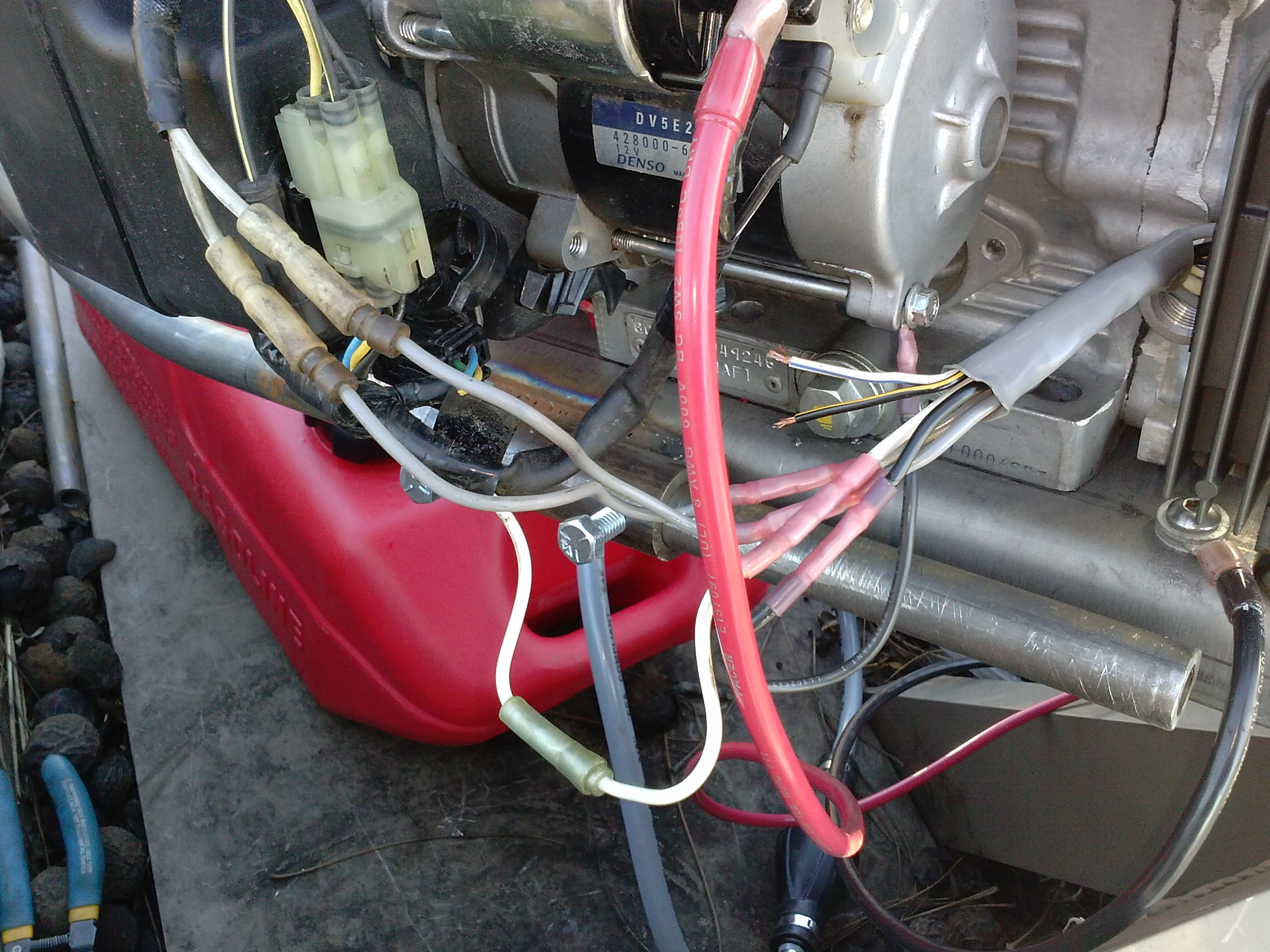 I Need Help Troubleshooting The Charging System On A Honda Gx630 - Honda Gx390 Electric Start Wiring Diagram
