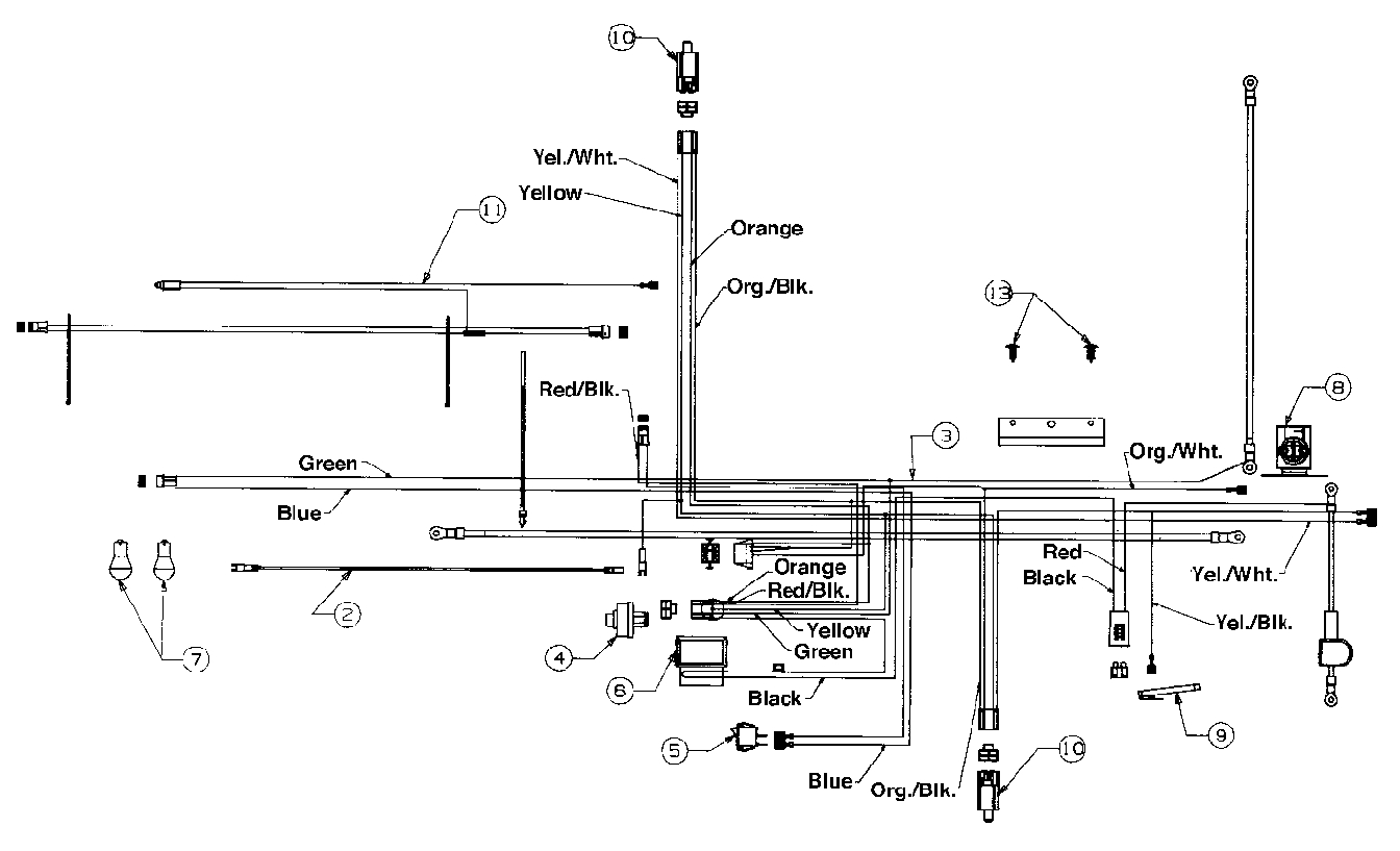 I Need The Wiring Diagram For Lawn Tractor Yard Machine Model 46Sd - Briggs And Straton Wiring Diagram