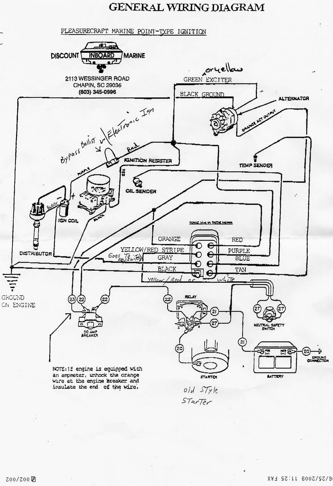 Ignition Switch - 82 Ski Nautique - Correctcraftfan Forums - Boat Ignition Switch Wiring Diagram