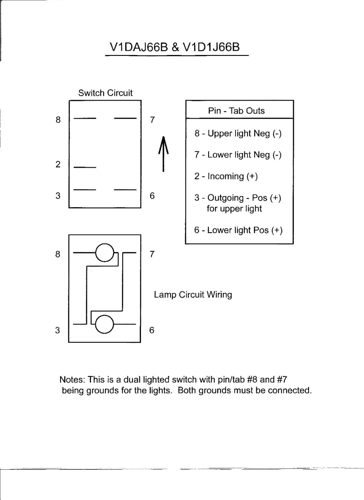 Illuminated Rocker Switch Wiring Diagram | Wiring Diagram - Illuminated Rocker Switch Wiring Diagram
