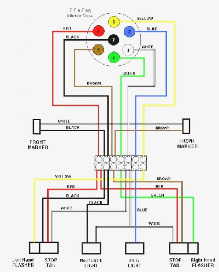 Trailer Lights Wiring Diagram