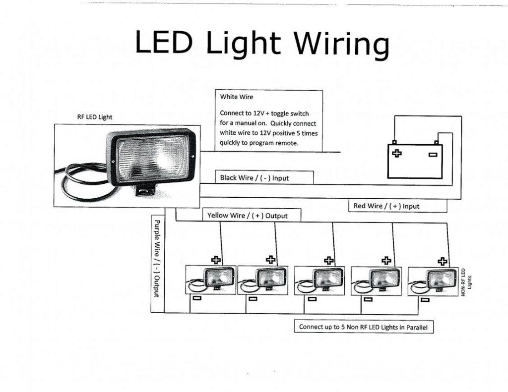 Sensational Led Light Wiring Diagram Wirings Diagram Wiring 101 Garnawise Assnl