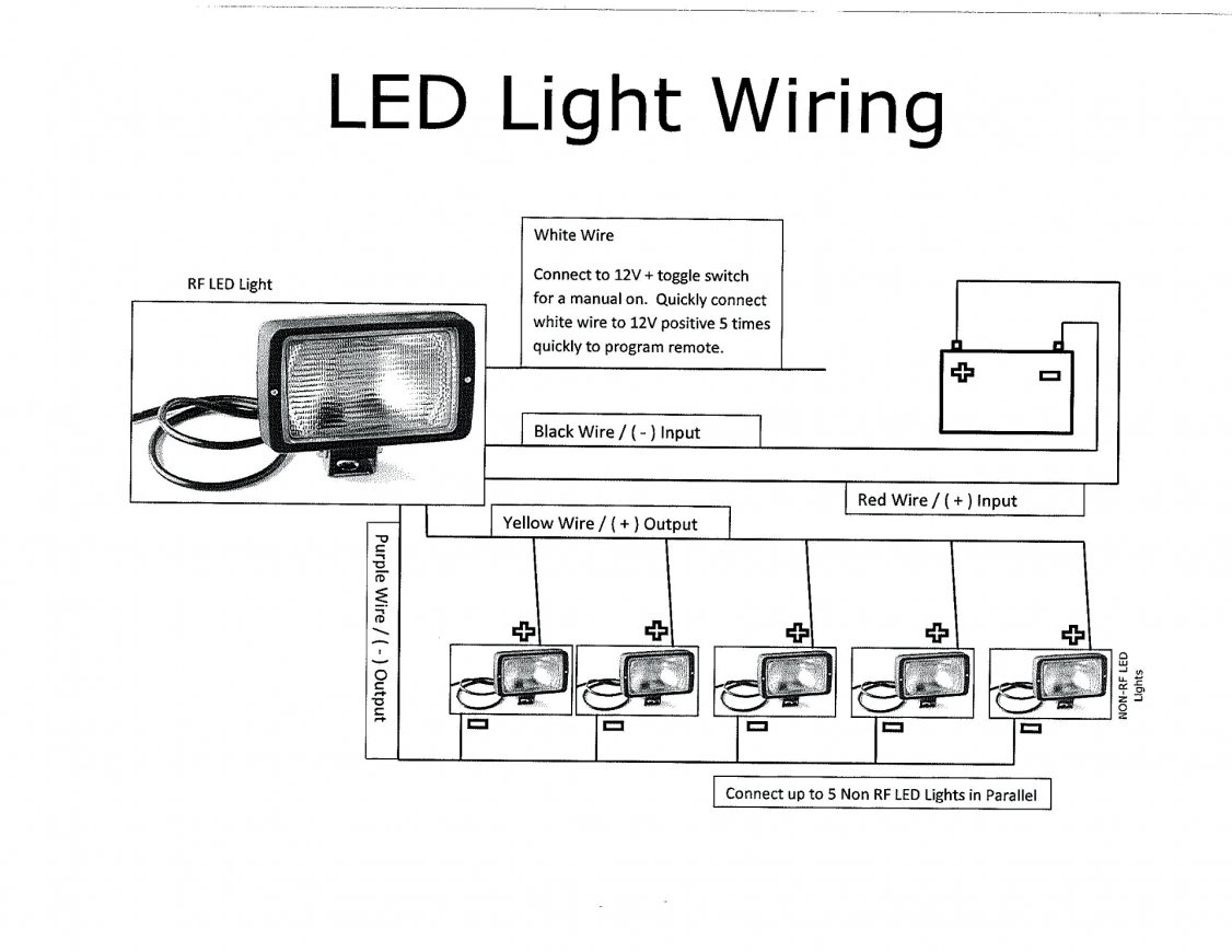 Awesome Led Light Wiring Diagram Wirings Diagram Wiring 101 Akebretraxxcnl