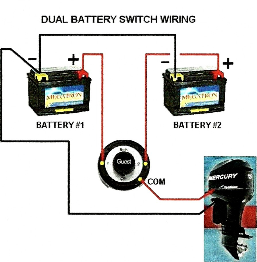 Inspirational Of Battery Selector Switch Wiring Diagram For You - Dual Battery Switch Wiring Diagram