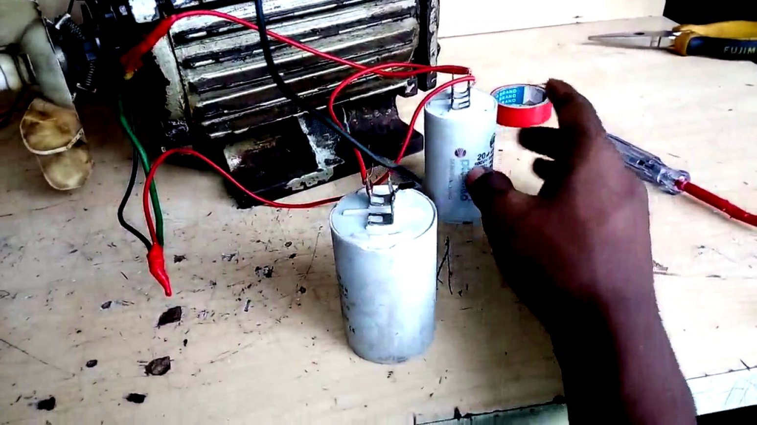 Inspirational Of Wiring Diagram For Electric Motor With Capacitor Ac - Electric Motor Capacitor Wiring Diagram