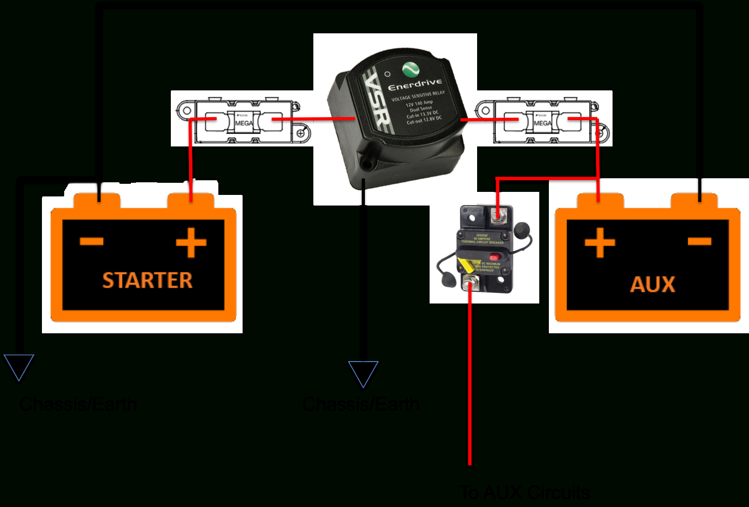 Install Guides - Solid Kit - Dual Battery Wiring Diagram