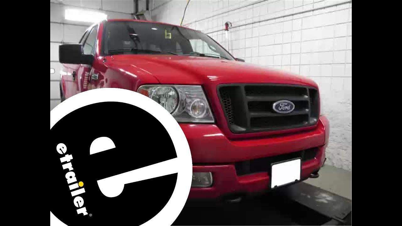 Install Trailer Wiring 2004 Ford F150 118247 - Etrailer - Youtube - 6 Pin Trailer Wiring Diagram