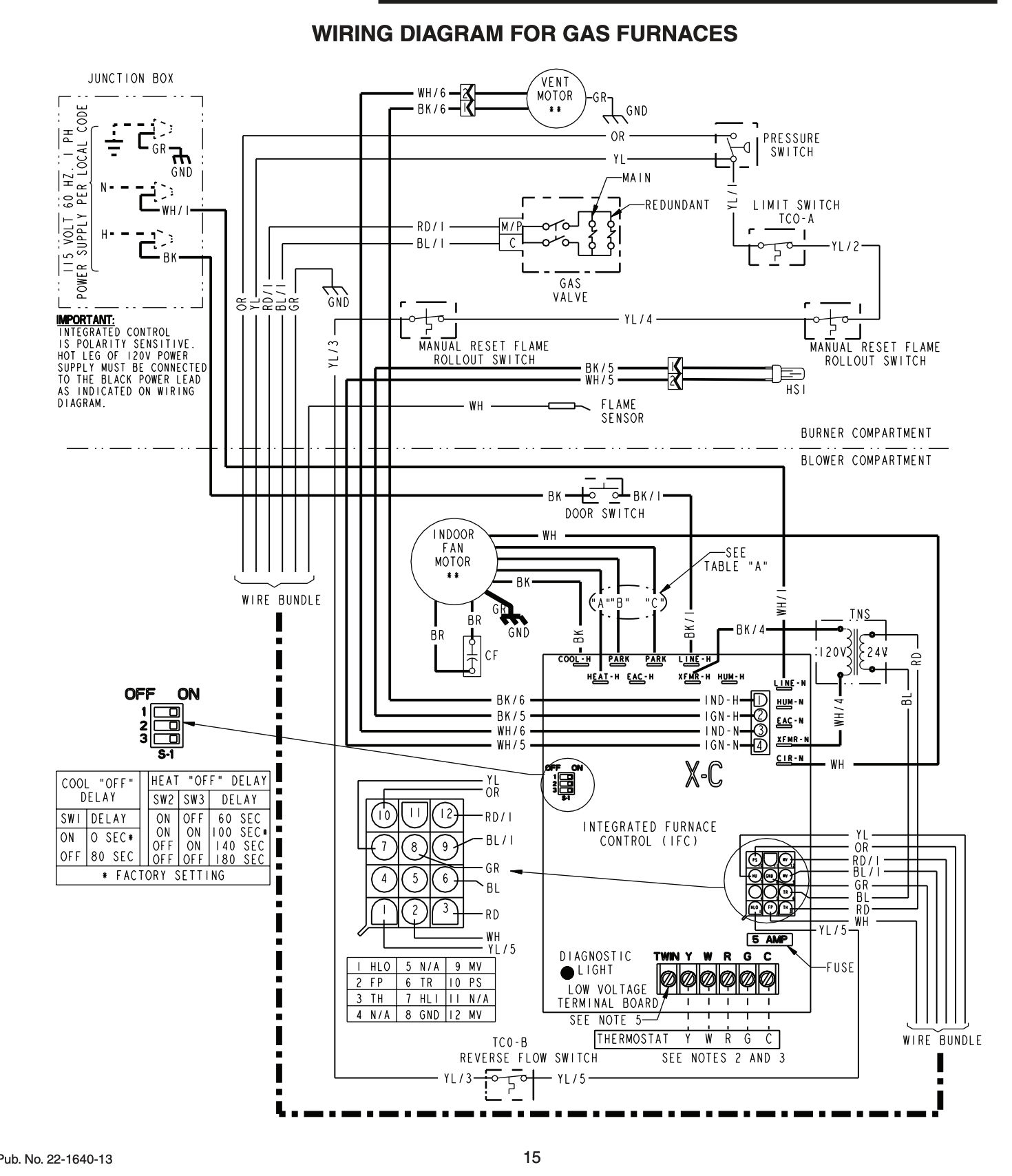 Installation And Service Manuals For Heating, Heat Pump, And Air - Trane Rooftop Unit Wiring Diagram