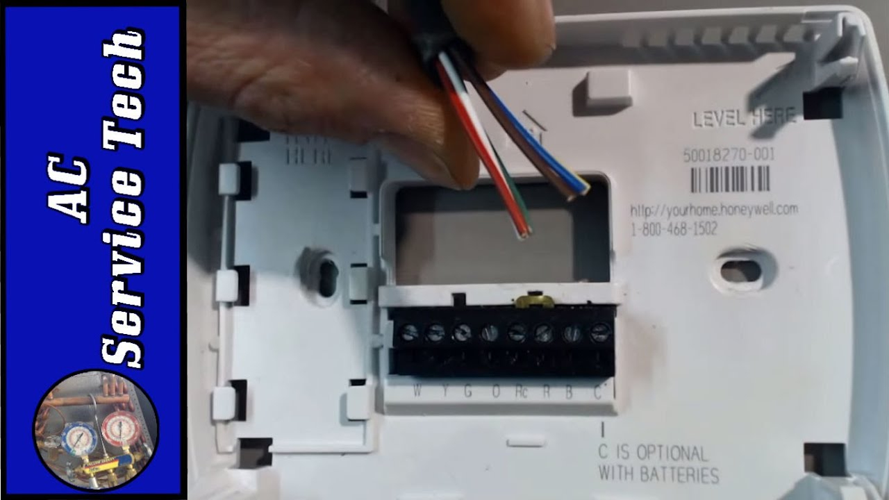 Admirable Installation And Wiring Of A 24V Low Voltage Thermostat Step Wiring Cloud Oideiuggs Outletorg