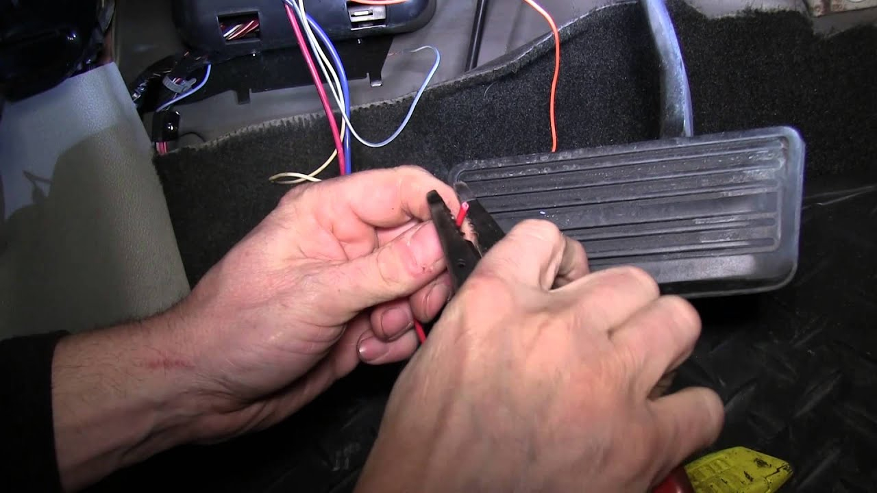 Installation Of A Trailer Brake Controller On A 2008 Chevrolet - Trailer Wiring Diagram With Electric Brakes