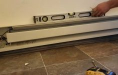 Installing Electric Baseboard Heater. Diy   Youtube   Baseboard Heater Wiring Diagram 240V