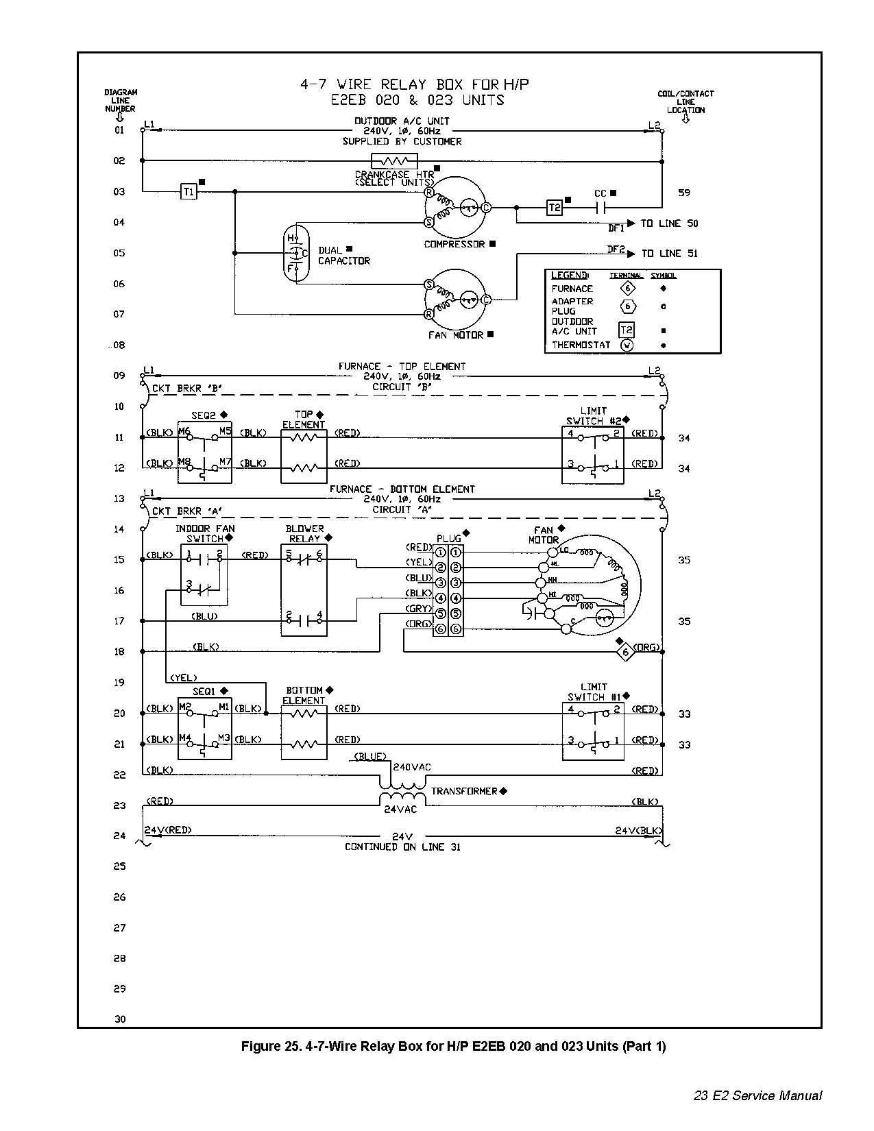 Intertherm Sequencer Wiring Diagram   Manual E-Books - Electric Furnace Wiring Diagram Sequencer