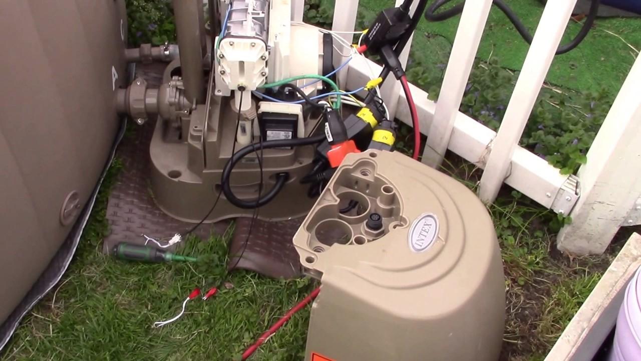 Intex Ssp-10 Purespa Repair - Less Than $40 - Youtube - 220V Hot Tub Wiring Diagram