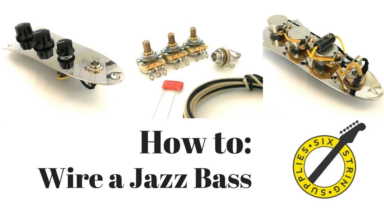 Jazz Bass Wiring - How To Wire A Fender Jazz Bass - Fender Jazz Bass Wiring Diagram