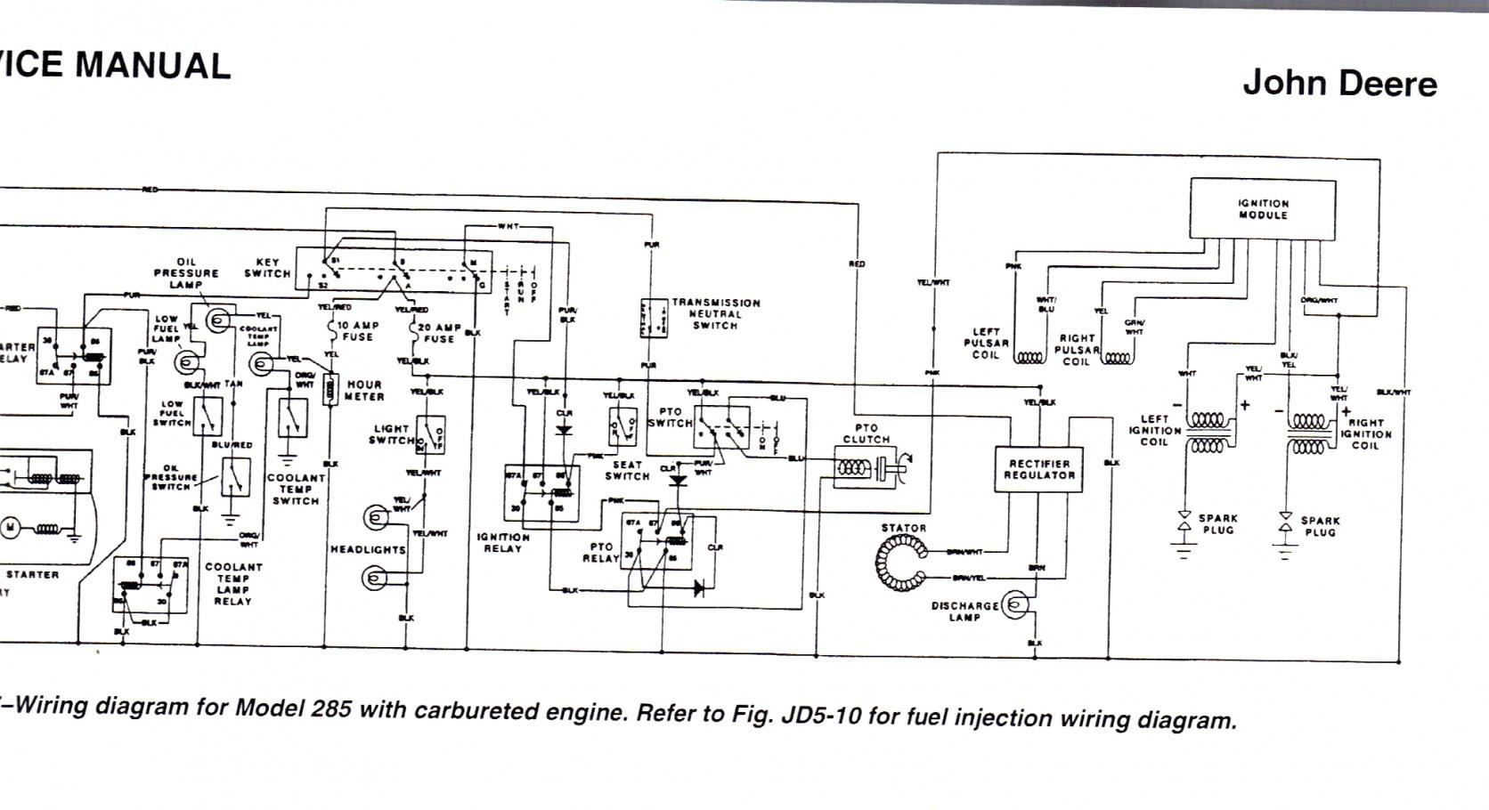 John Deere Fuse Box   Wiring Diagram - John Deere Wiring Diagram