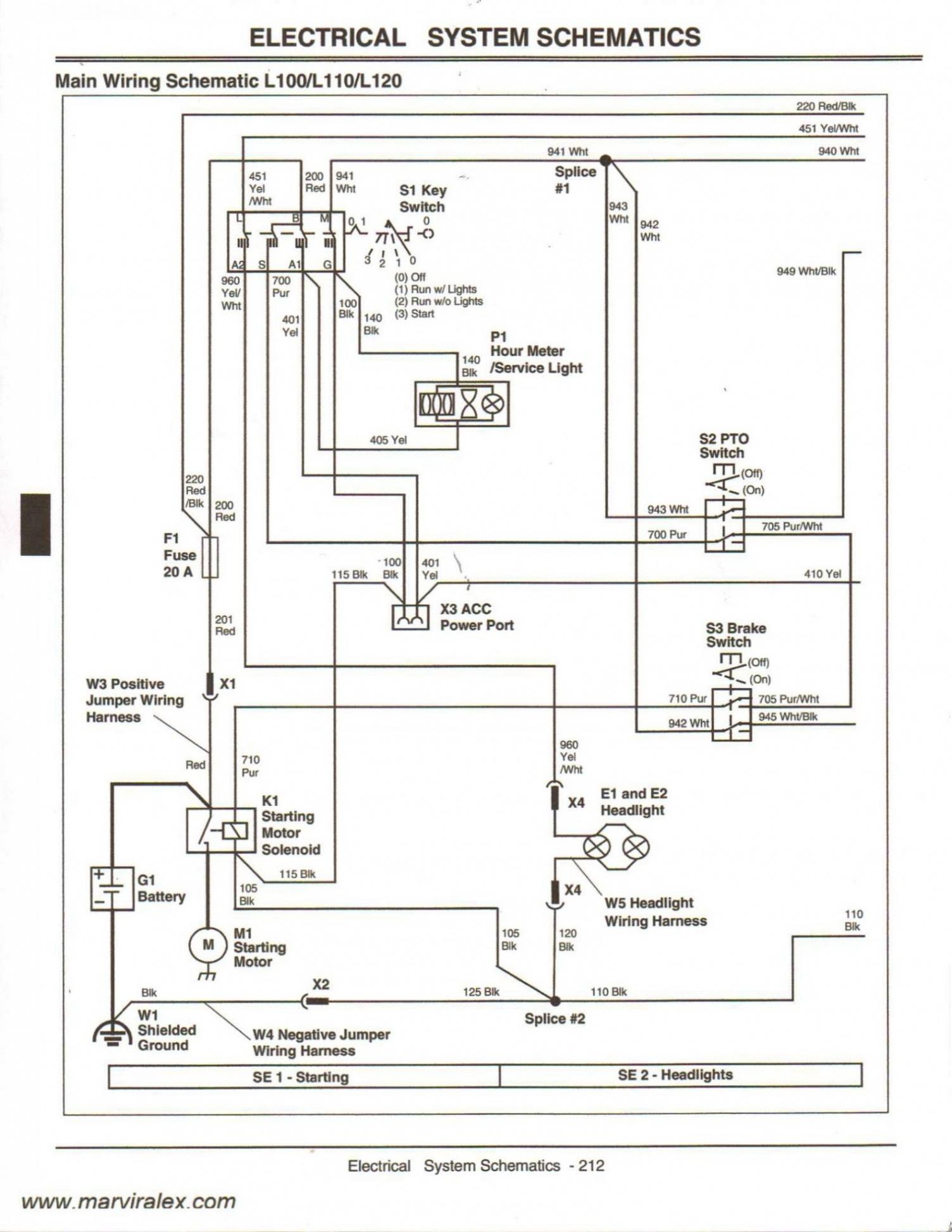 John Deere Lt133 Wiring Diagram | Manual E-Books - John Deere Lt133 Wiring Diagram